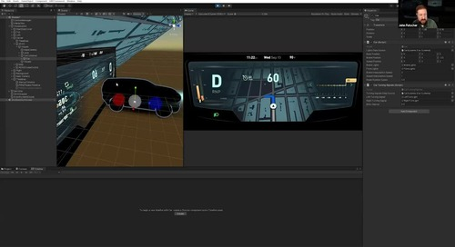 How to create the next generation of automotive HMI with Unity
