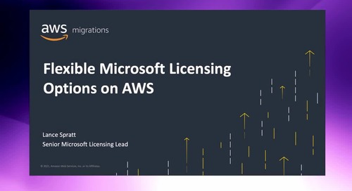 MSFT Licensing 101 on AWS: How to optimize new and existing licenses [Level 200]