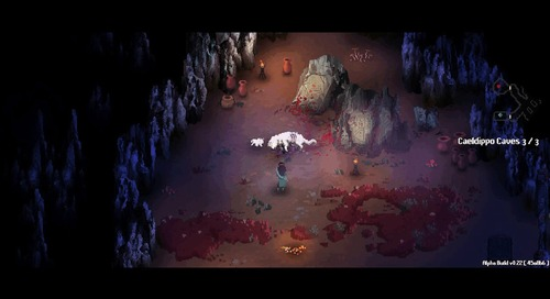 A cutscene from Children of Morta