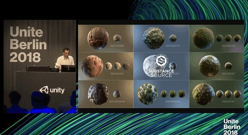 Unite Berlin 2018 - Virtual PBR Materials with Substance