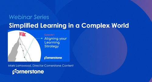 EPISODE 1 - Simplified Learning in a Complex World