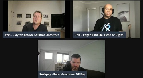 Modernise .Net Workloads on AWS | SaaS Chat with Pushpay and DNX