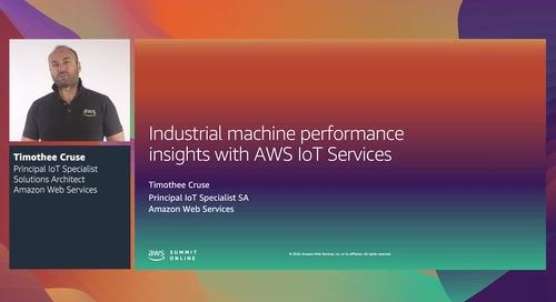 [RECAP - ID]  Wawasan kinerja mesin industri dengan layanan AWS IoT