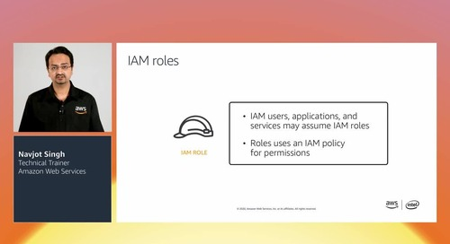 AWSome Day Module 4: Secure your cloud applications