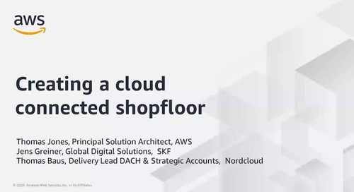 How Nordcloud created a cloud-connected shopfloor for SKF
