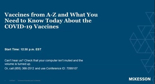 Vaccines from A-Z & what you need to know about the COVID-19 vaccines