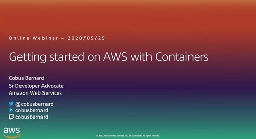 Getting Started on AWS with Containers