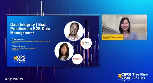 Session: Data Integrity: Best Practices in B2B Data Management