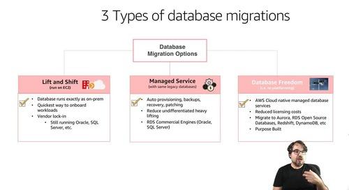 Cómo traer tus bases de datos a AWS
