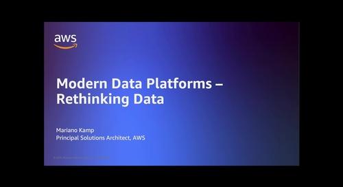 Modern Data Platform - Rethinking Data