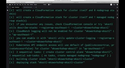 [Demo] Membangun aplikasi kontainer menggunakan Kubernetes di AWS - Amazon EKS
