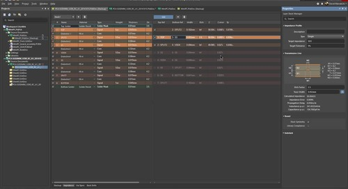 Stackup Impedance Profiles Manager - Sneak-Preview:ADSCvid