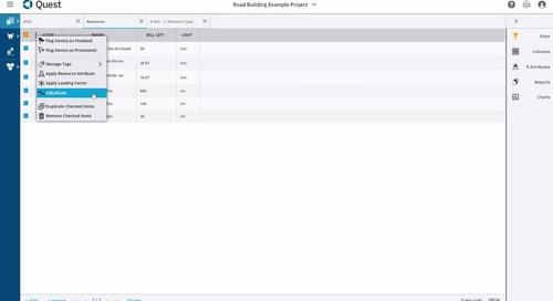 Trimble Quest Video Demo - Accurate Construction Estimating