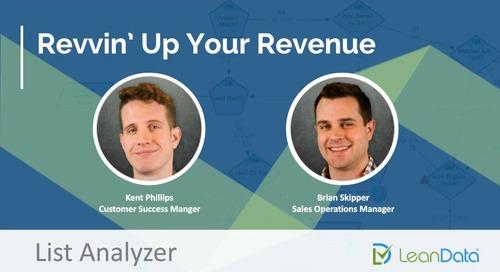 Revvin' Up Your Revenue - List Analyzer