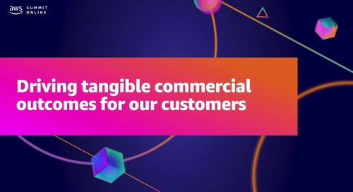 Driving tangible commercial outcomes for our customers