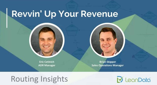 Revvin' Up Your Revenue - Routing Insights