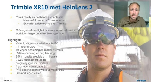 Field Technology Hardware: XR10 and HoloLens 2