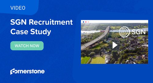 Solving the recruitment challenge at SGN with Cornerstone