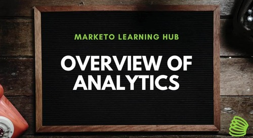 Overview of Analytics