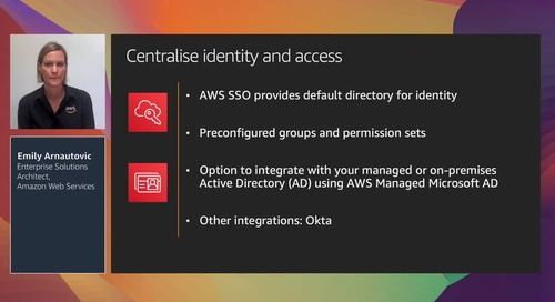 Establish and govern a multi-account AWS environment with AWS Control Tower