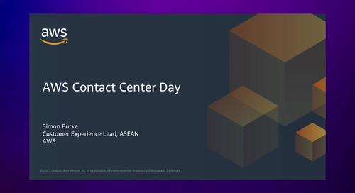 AWS Contact Center Day 2021 Closing