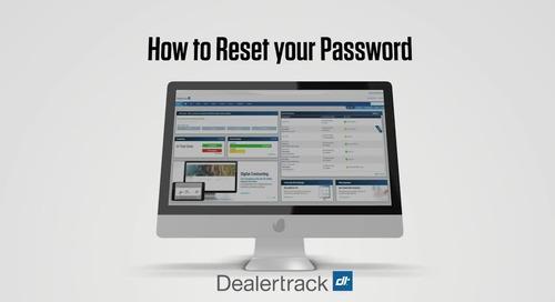 Reset Your Dealertrack Password or Retrieve your Login ID