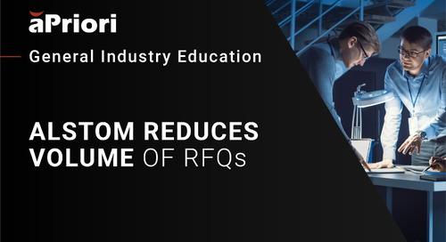 Alstom Case Study Presentation at Cost Insight 2019