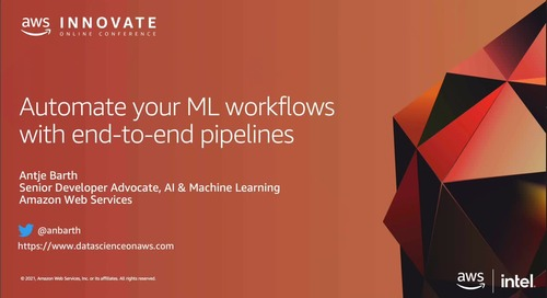 Orchestrate and Automate Machine Learning Workflows with SageMaker Pipelines [Level 300]