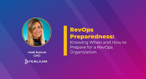 RevOps Preparedness: Knowing When and How to Prepare for a Rev Ops Organization