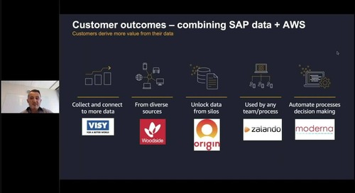 SAP on AWS and the modern approach to data insights