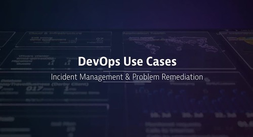 DevOps Use Cases: Incident Management & Auto Remediation