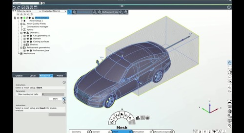 End-To-End Aerodynamic Simulation Workflow of The DrivAer in Omnis™