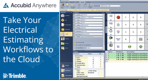 [Webinar Recording] Take Your Electrical Estimating Workflows to the Cloud with Accubid Anywhere