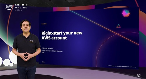 Right-start your new AWS account [L200]