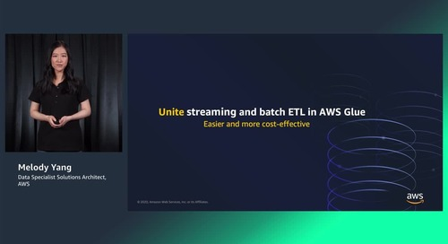 Unite streaming and batch analytics with AWS Glue (Level 300)