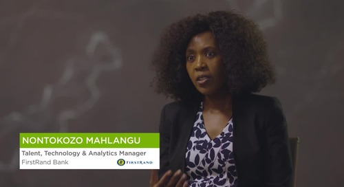 Nontokozo Mahlangu from FirstRand Bank