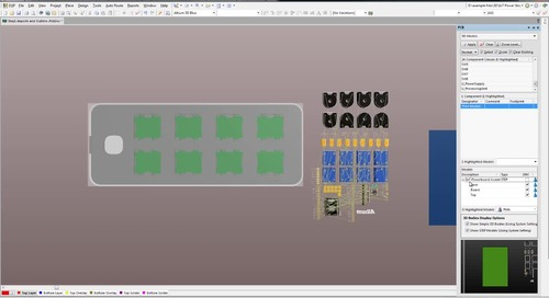Working With MCAD Case Assemblies - Features