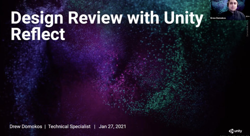Design review with Unity Reflect