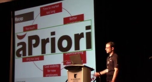 Soucy Solves Costing Challenges with aPriori