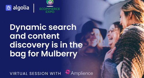 Dynamic search and content discovery is in the bag for Mulberry