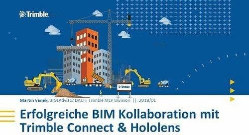 Erfolgreiche BIM Kollaboration mit Trimble Connect & HoloLens - Swissbau Innovation Lab