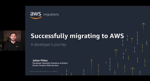 Successfully Migrating to AWS - A Developer's Journey