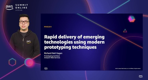 2021 and beyond – Rapid delivery of emerging technologies using modern prototyping techniques [L200]