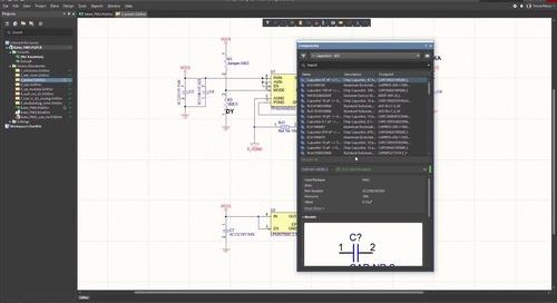 Улучшения панели Components