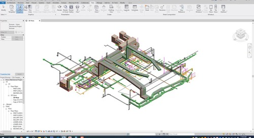 EC-CAD Pipe Training Exercise Part 20: Revit Interoperability - Extracting Revit System Drawings
