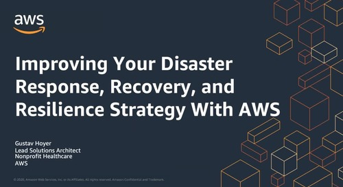 Webinar: Disaster readiness for healthcare organizations