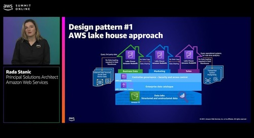 Data analytics architectural patterns and best practices