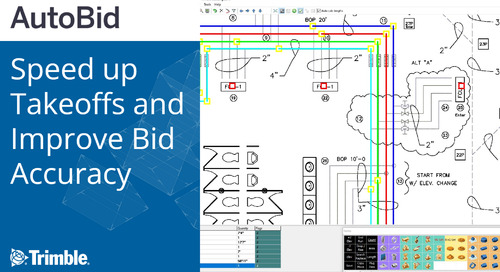 [Webinar Recording] Speed up Takeoffs and Improve Bid Accuracy with Trimble AutoBid