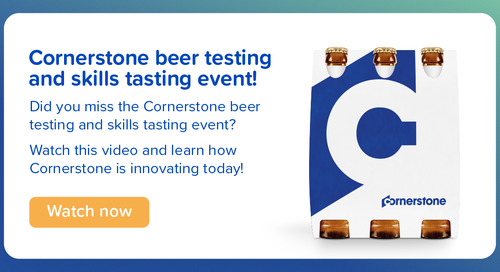 Cornerstone beer testing and skills tasting event!