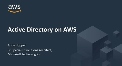 Identity and Active Directory on AWS